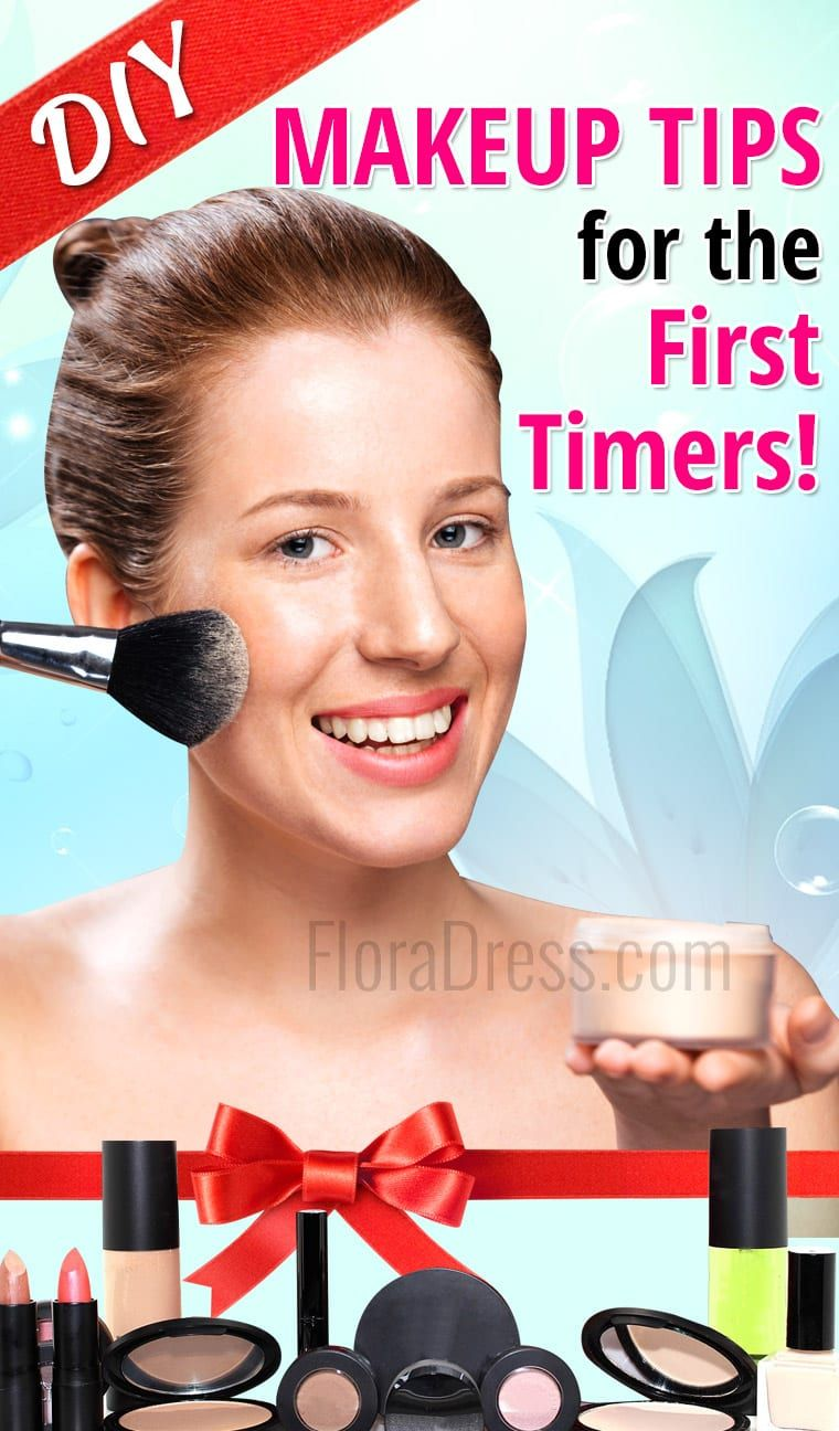 DIY Makeup Tips for First Timers