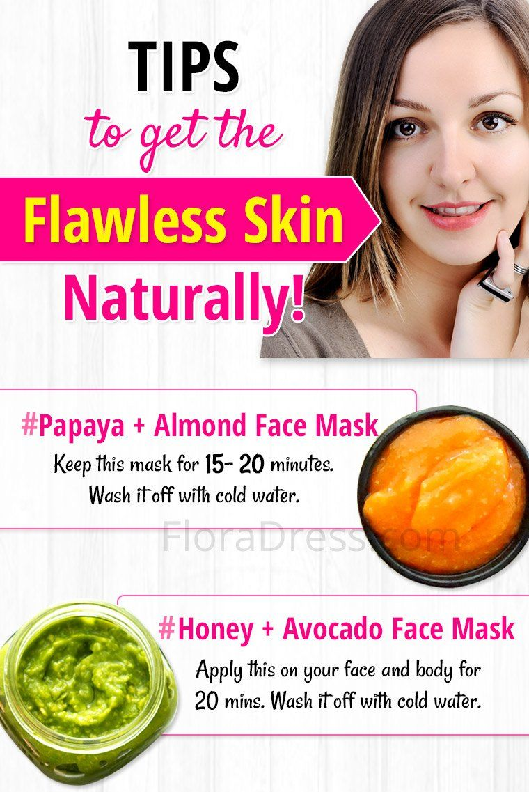 Tips to Get Flawless Skin Naturally