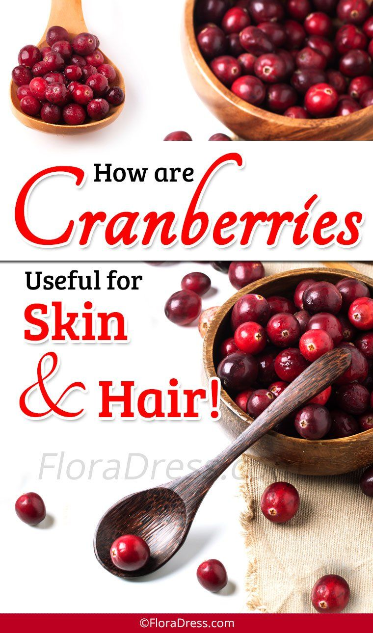Benefits of Cranberries for Skin and Hair