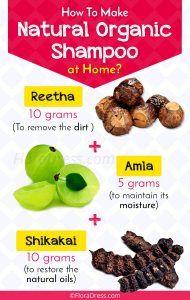 How to Make a Natural Organic Shampoo at Home?