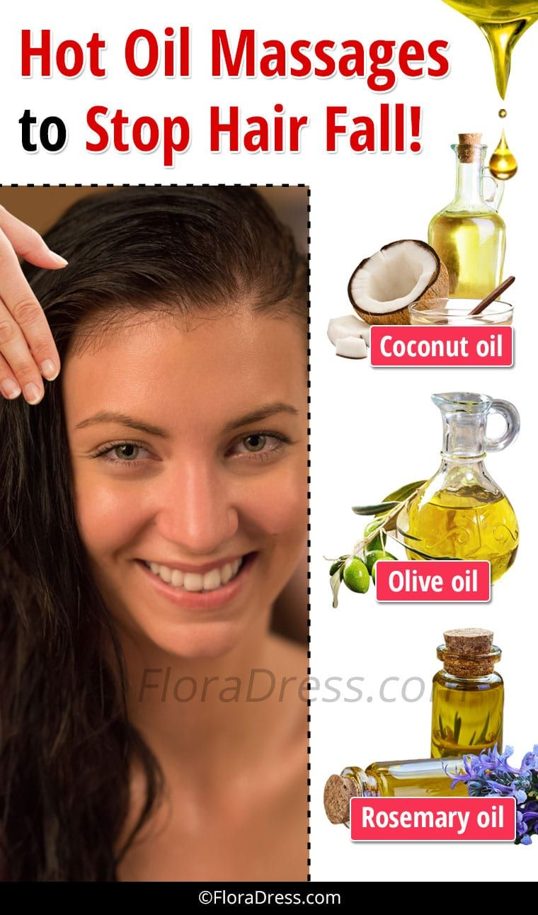 Hot Oil Massages to Stop Hair Fall
