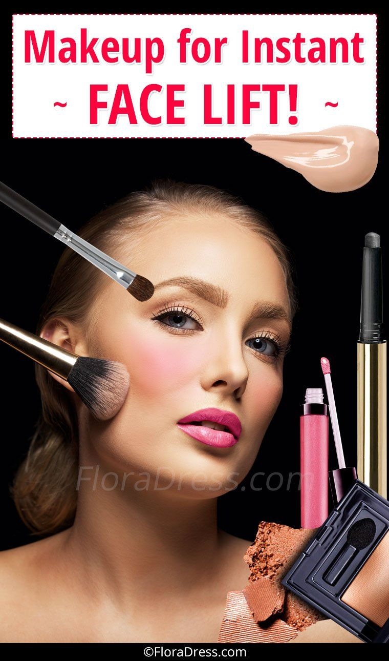 Makeup for Instant Face Lift