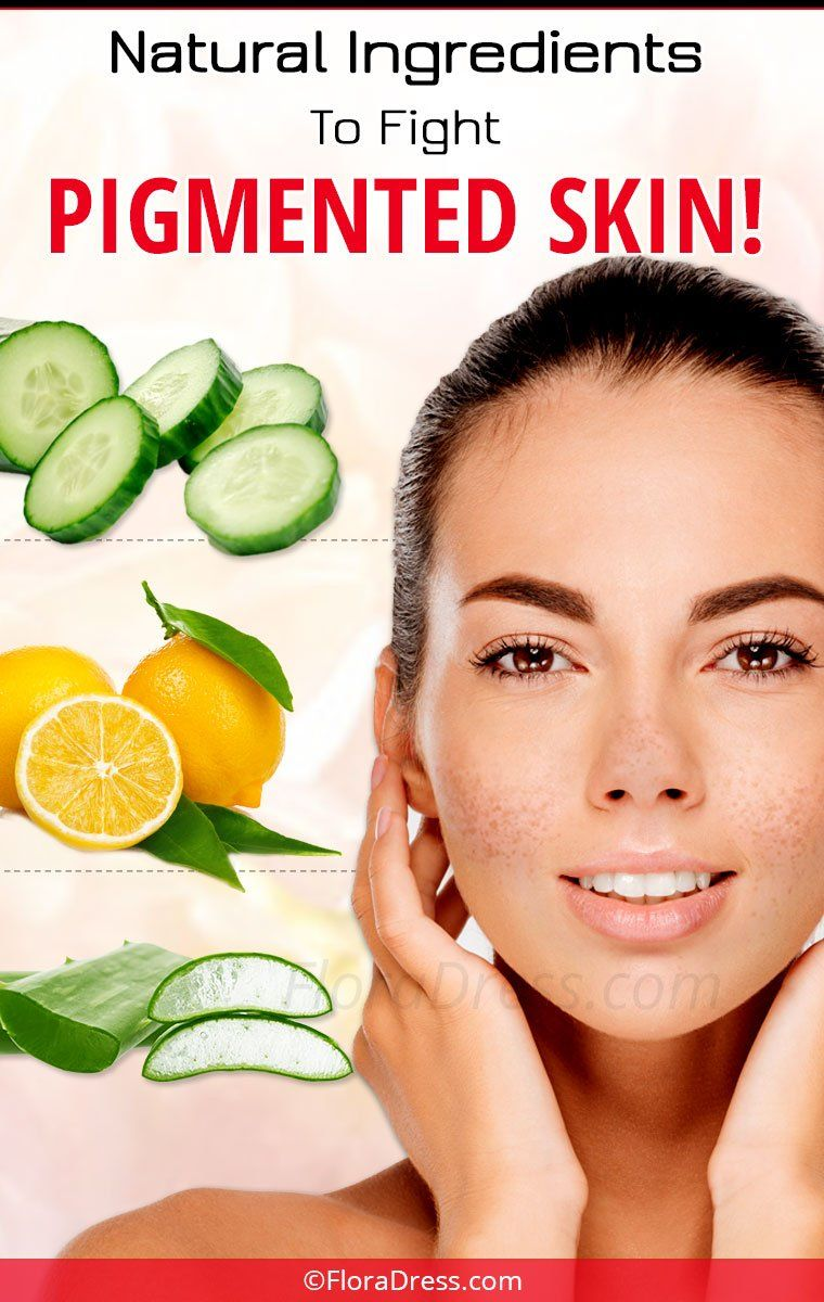 Fight Skin Pigmentation with Natural Ingredients at Home!
