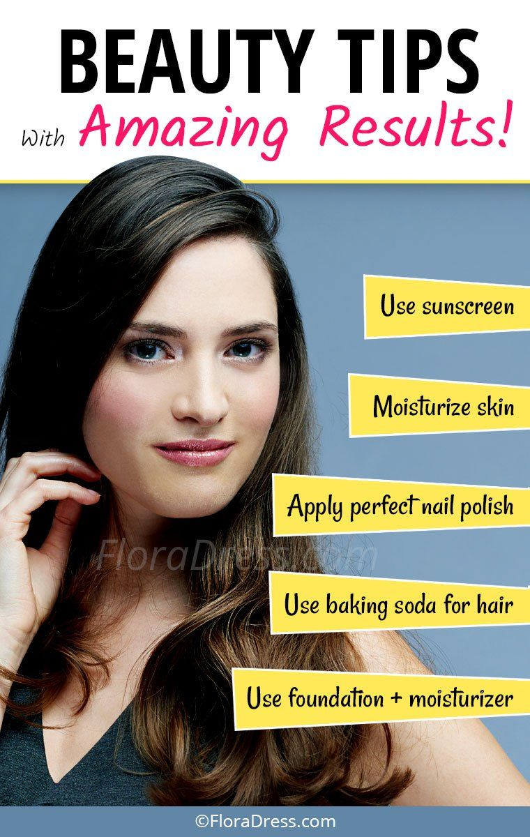 Simple Beauty Tips With Amazing Results You Must Know