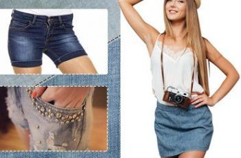 Beautiful Denim Shorts