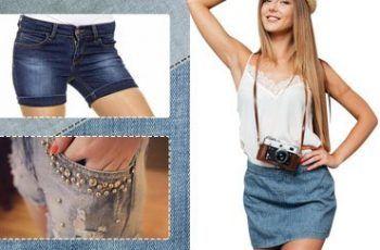 Beautiful Denim Shorts