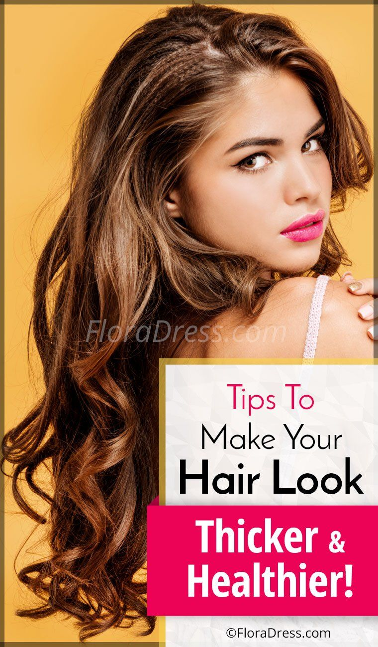 Tips For Healthy Hair Natural Way To Make Your Hair Look Healthier
