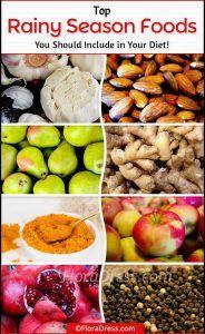Top Rainy Season Foods
