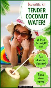 Tender Coconut Water Benefits