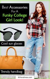 Best Accessories For A Funky College Girl Look