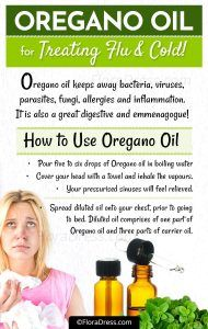 Oregano Oil For Colds & Flue