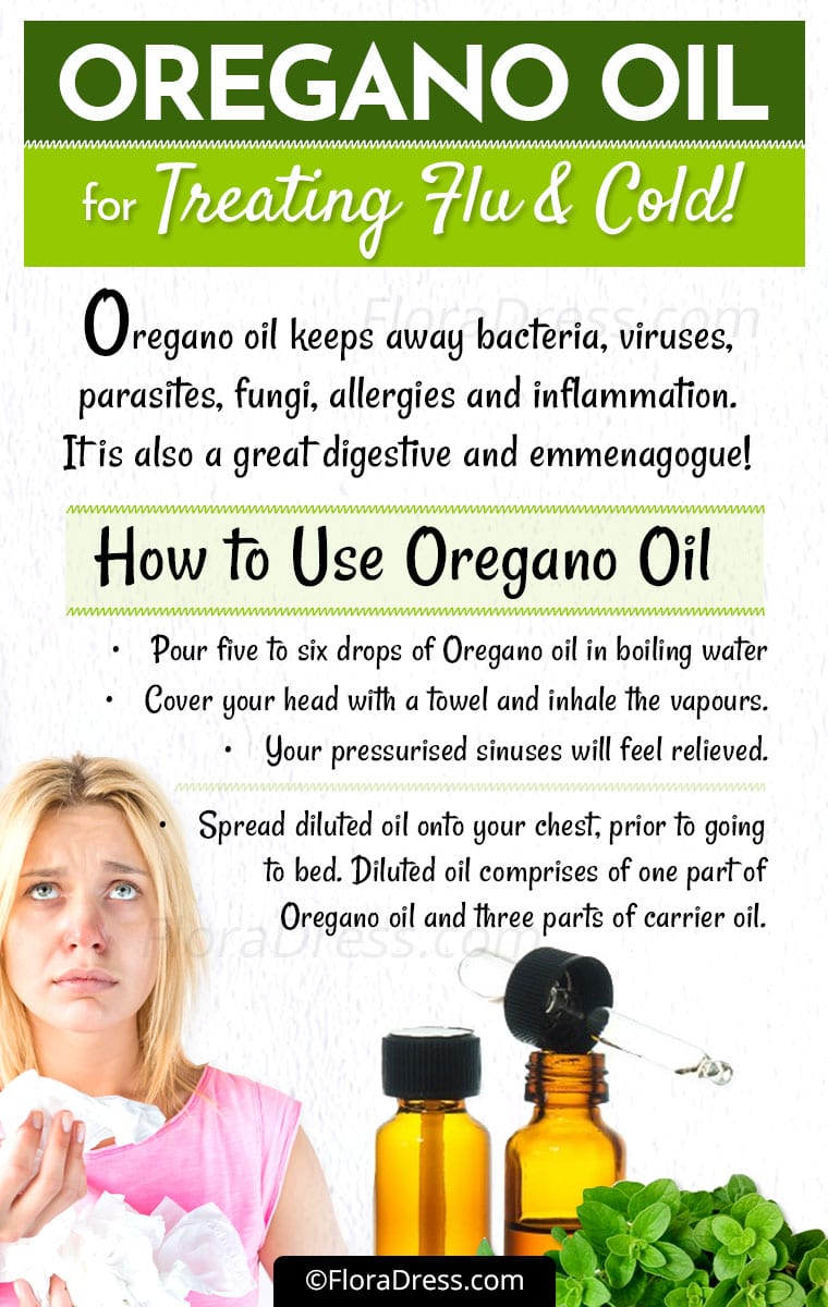 Oregano Oil For Colds & Flue