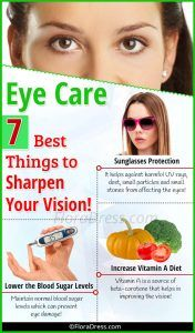 Eye Care - 7 Best Things To Sharpen Your Vision!