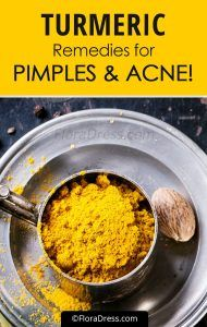 Turmeric Remedies For Acne