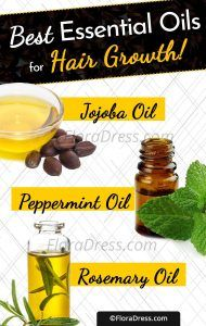 10 Essential Oils For Hair Growth