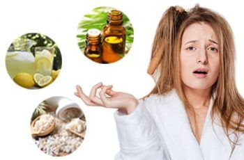 Greasy Hair Home Remedies